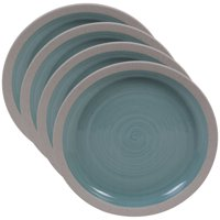 Artisan Teal Set/4 Salad Plate 9""