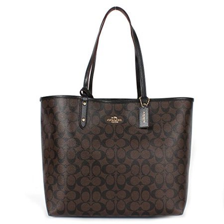 Coach F36609 Reversible PVC City Signature Tote