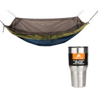 Equip One Person Mosquito Hammock with 30oz Tumbler Value Bundle
