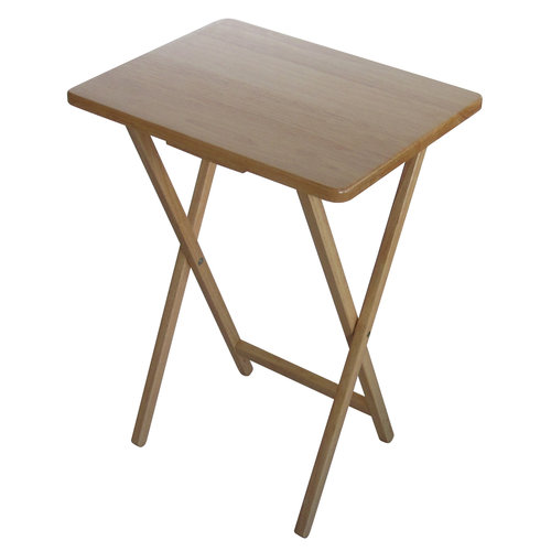 Nice Mainstays Tray Table, Natural