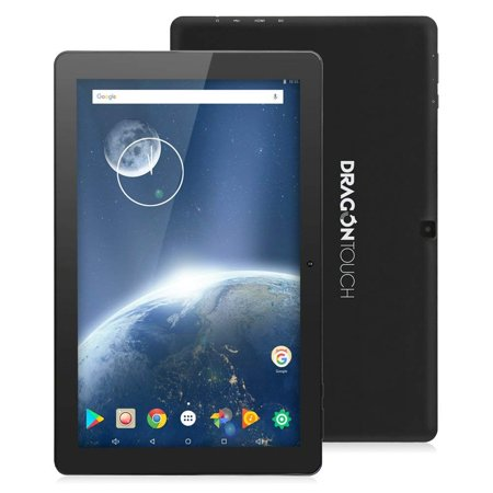 TabletExpress Dragon Touch X10 2017 Edition 10 inch Android 7.0 (Kurio Touch 4s Android Black Handheld Tablet)