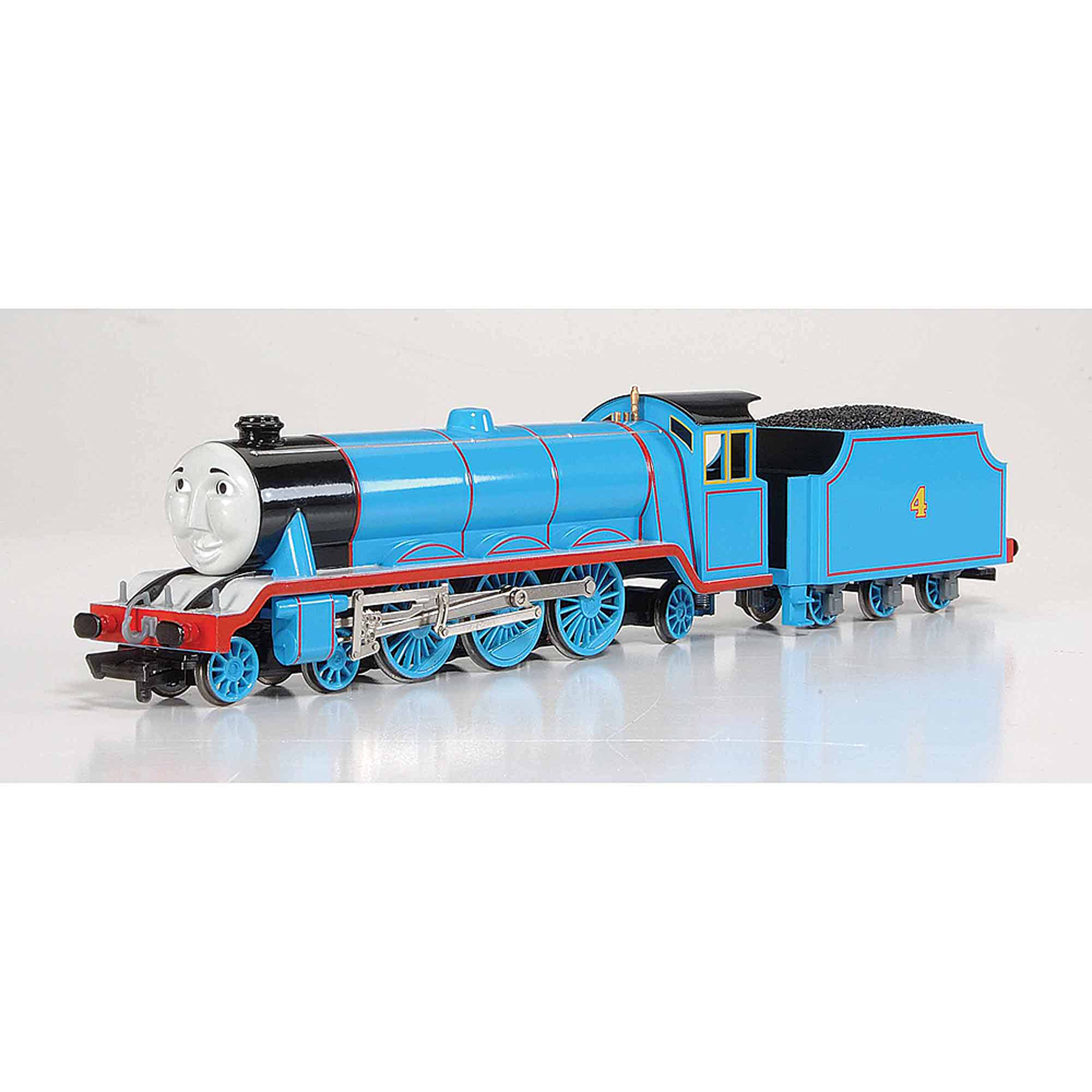 Bachmann Trains Thomas and Friends Gordon The Express Engine Locomotive with Moving Eyes, HO Scale Train by Bachmann