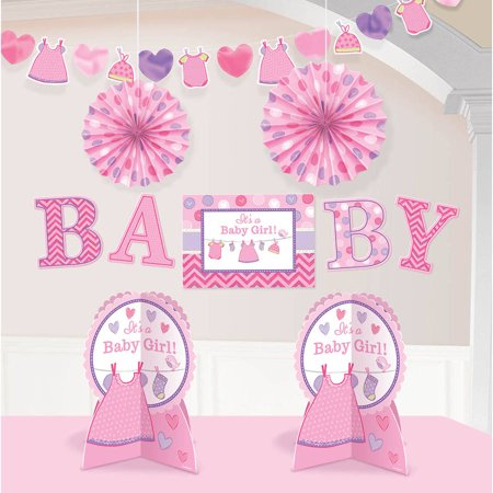 Shower With Love Girl Room Decorations Kit