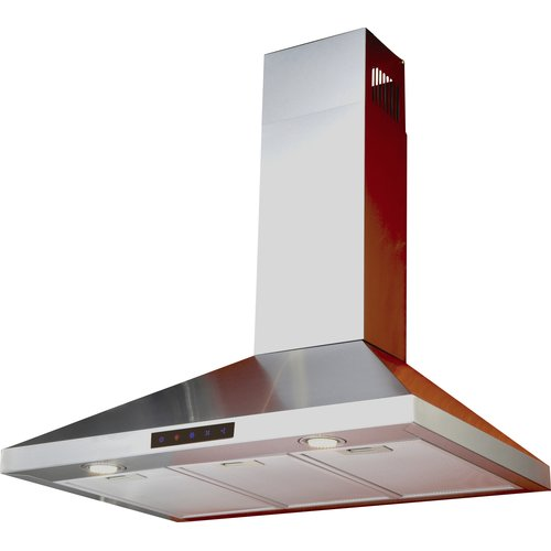 Kitchen Bath Collection 36'' 412 CFM Wall Mount Range Hood