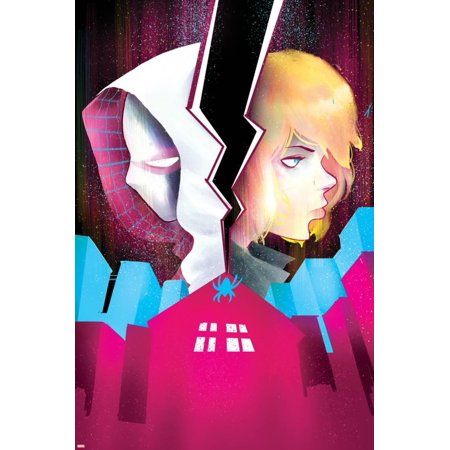 Spider-Gwen #5 Cover Featuring Spider-Gwen, Stacy, Gwen Poster Wall Art By Robbi - Gwen Stacy Oscorp