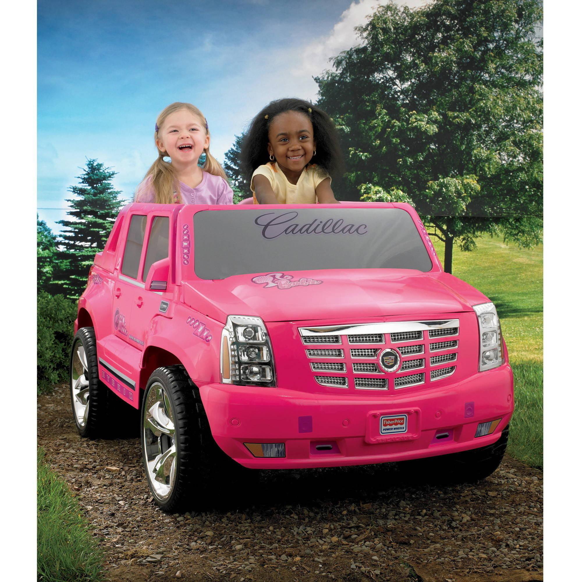 Power Wheels Barbie Escalade - Walmart.com