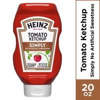 Simply Heinz Tomato Ketchup, 20 oz Bottle
