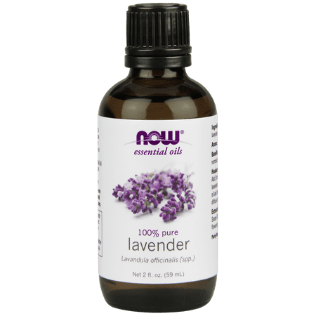 NOW Pure Essential Oils, Lavender, 2 Oz