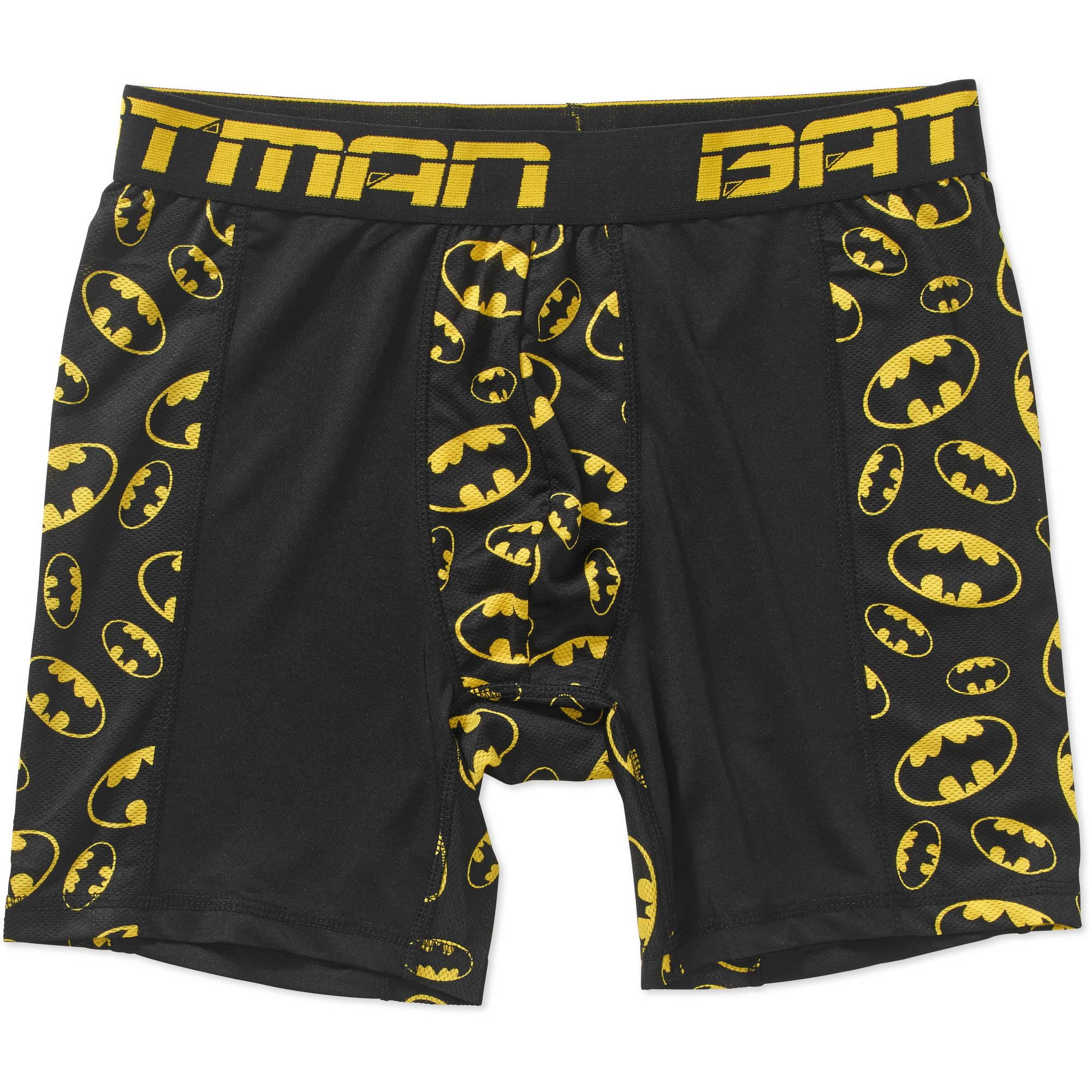 Batman Men's Poly Boxer Brief by
