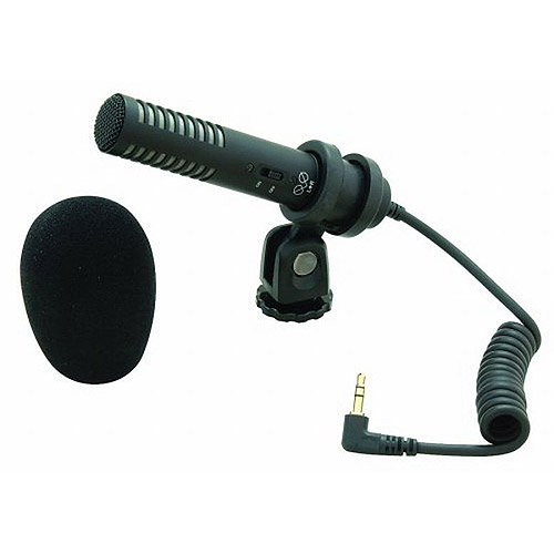 Audio-Technica Pro-24CM Compact Stereo Condenser Microphone With Camera Mount