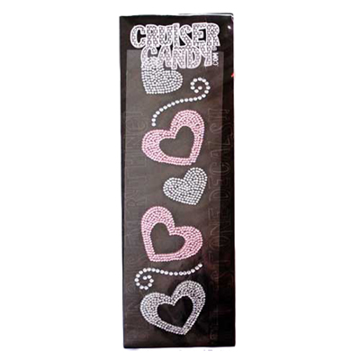 Cruiser Candy Decals, Hearts