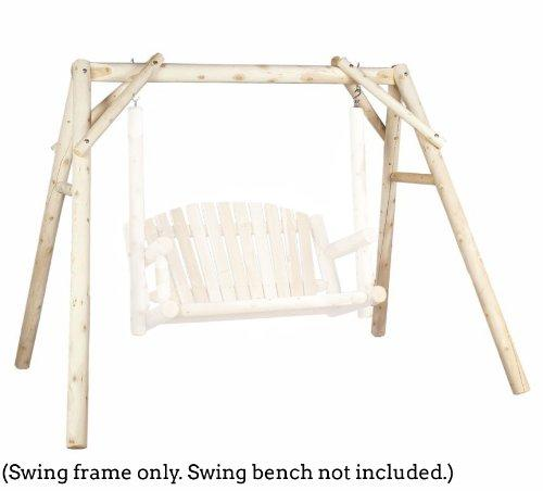 outdoor swing frame only - 5 ft cedar