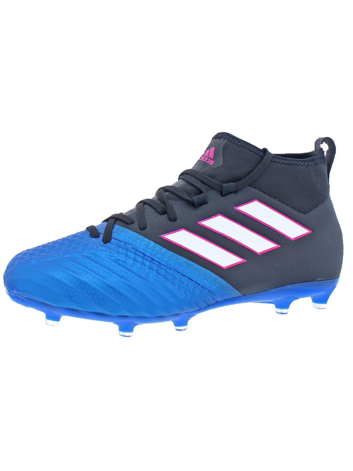 Adidas Boys Ace 17.1 FG J Big Kid Soccer Cleats Black 4 Medium (D) Big Kid by Adidas