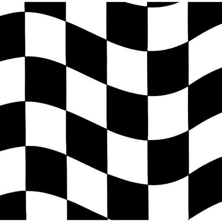 Party Creations Checkered Lunch Napkins, Black/White, 18 Ct