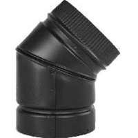 Selkirk Vent Pipe (Selkirk 266215 Fixed Stove Pipe Elbow, 45 deg, 6 in)