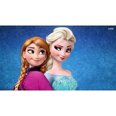 Frozen Disney Elsa Ice Castle Anna Princess Edible Image