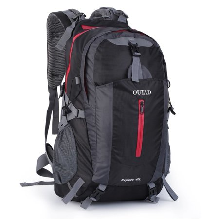 fc10871595a6 Outdoor Camping Hiking Explore 40L Backpack With Suspension System AOTU on  Clearance - Walmart.com