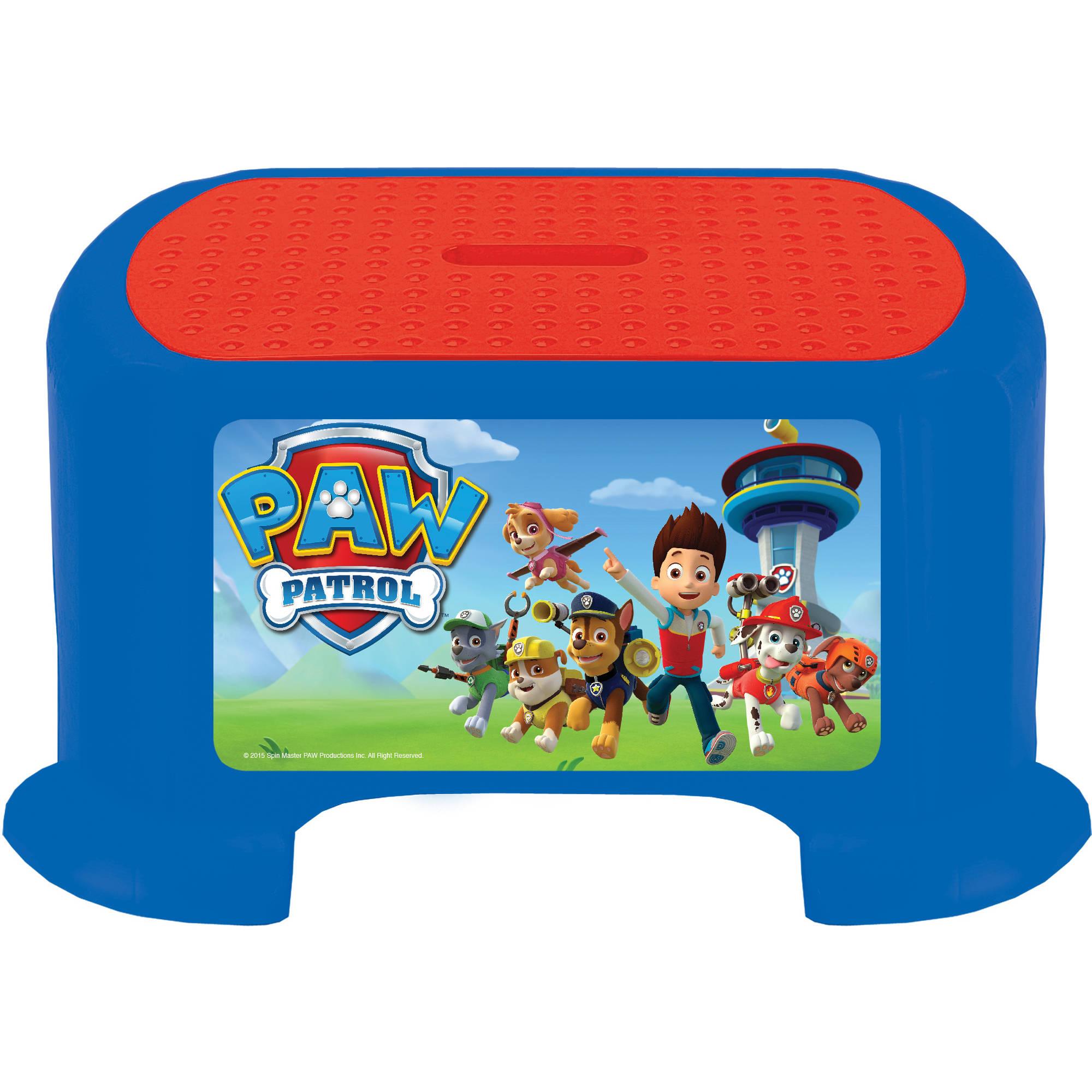 Kids Only! Nickelodeon Paw Patrol Step Stool