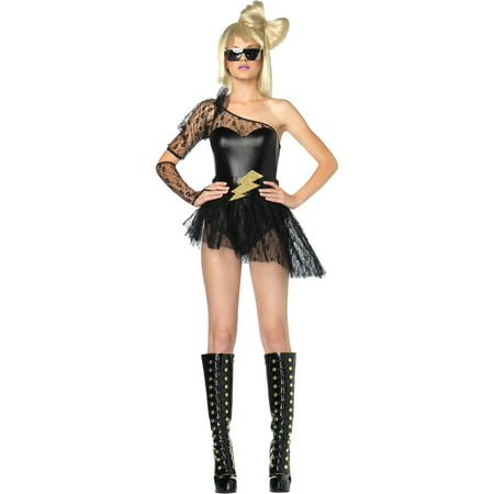 Lightening Rocker Women's Adult Halloween Costume, One Size, XS - Halloween Rocker