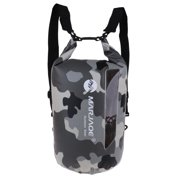 20L Outdoor Sport Waterproof Dry Sack Backpack for Kayaking Camping Camo