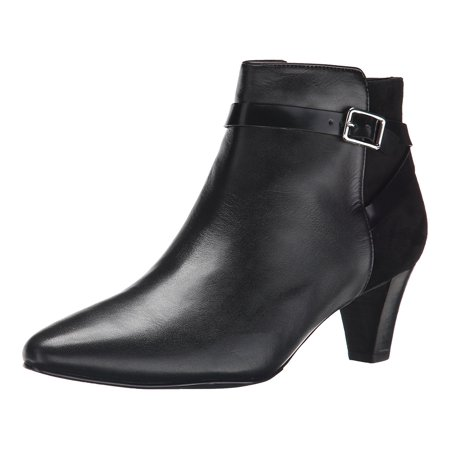 Cole Haan Womens Sylvan Almond Toe Ankle Fashion Boots