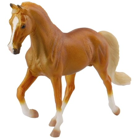 Breyer CollectA Series Tennessee Walking Horse Golden Palomino Model Horse