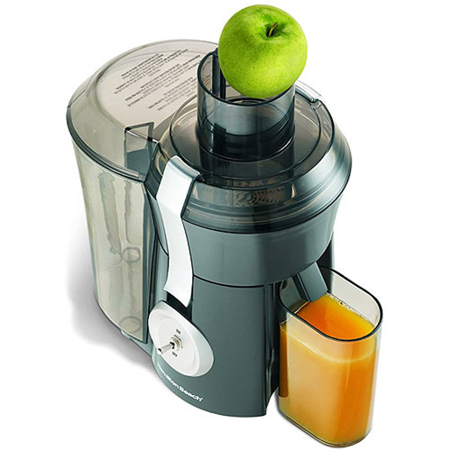 Hamilton Beach Big Mouth Juice Extractor Powerful 800 Watt Motor | Model# 67650