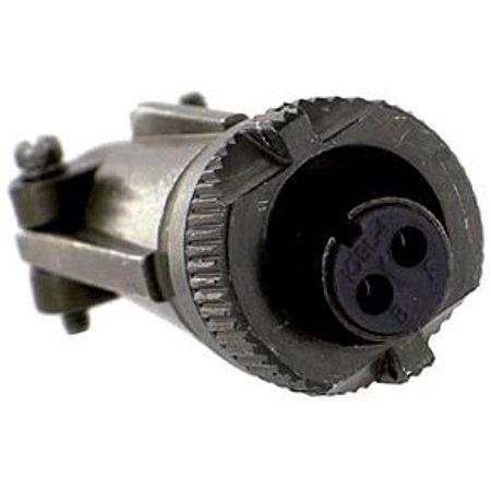 ITT CANNON MS3106E10SL-4S CIRCULAR CONNECTOR PLUG SIZE 10SL 2 POSITION, CABLE (Itt Cannon Connectors)