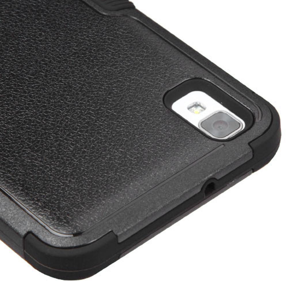 LG Tribute HD Phone Case, LG X STYLE Case, LG Tribute HD Case, by Insten Tuff Hard Hybrid Dual Layer Case For LG X STYLE / Tribute HD case cover - image 1 of 3
