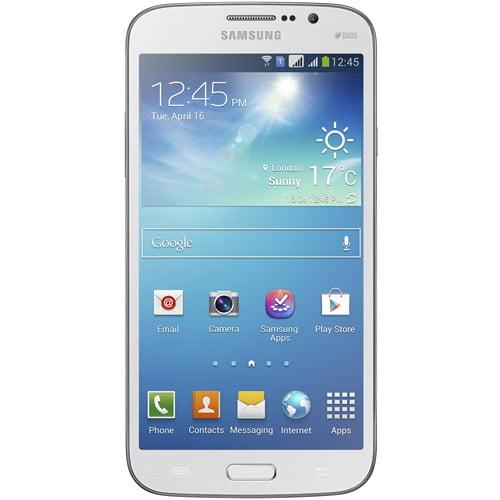 Samsung Galaxy Mega 5.8 I9152 Dual-SIM Android Phone (Unlocked), White