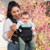 Infantino Flip 4-in-1 Carrier - Ergonomic, Convertible, Face-in and Face-Out, Front and Back Carry for Newborns and Older Babies 8-32 lbs, Black