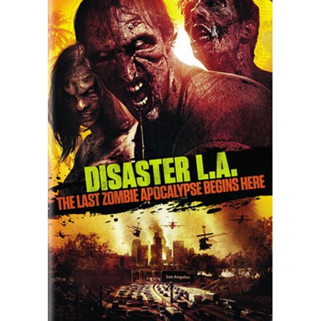 Disaster L.A.: The Last Zombie Apocalypse Begins Here (DVD) - Zombie Projection Dvd
