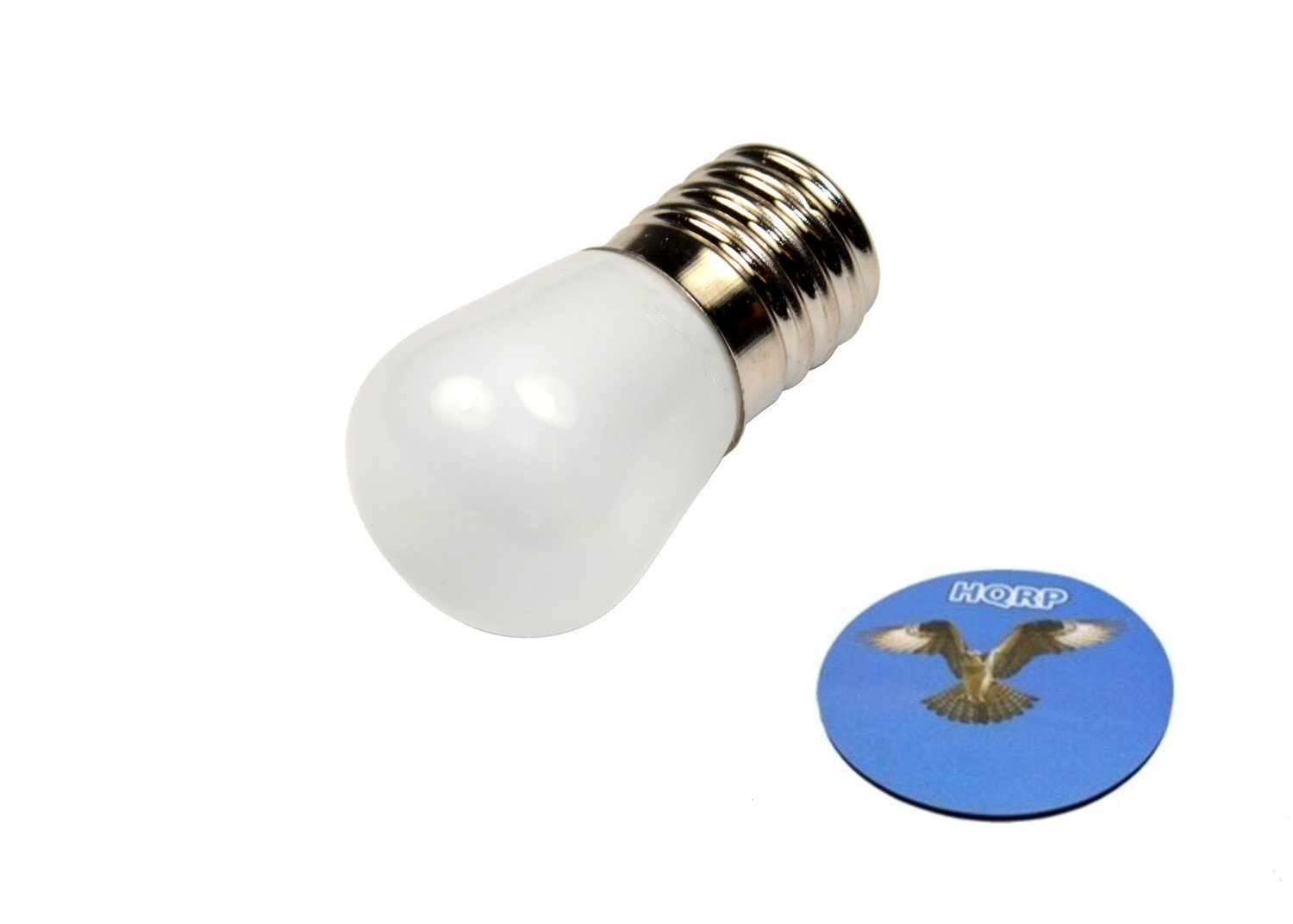 HQRP 110V E17 Base LED Bulb for Freezer Fridge Refrigerator