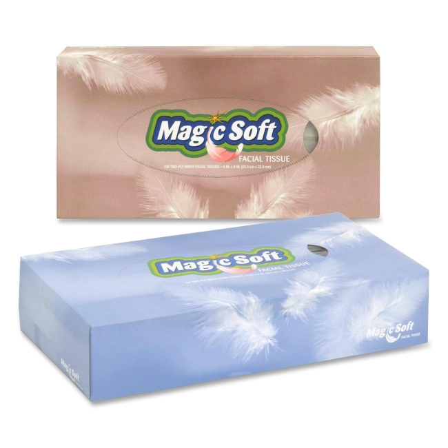 Special Buy Bare Necessities Soft Facial Tissue - White - Soft - 100 Sheets Per Box - 3000 / Carton