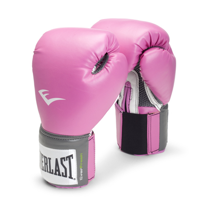 Everlast Pro Style Boxing Gloves, 12oz, Pink