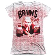 IZombie Brains Juniors Sublimation Shirt
