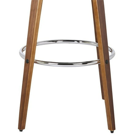 "Maklaine 26"" Faux Leather Counter Stool in Brown - image 6 of 6"