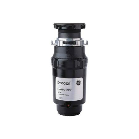 GE GFC325V - Food waste disposer - 246 W - black