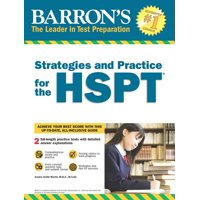 Barron's Strategies and Practice for the HSPT