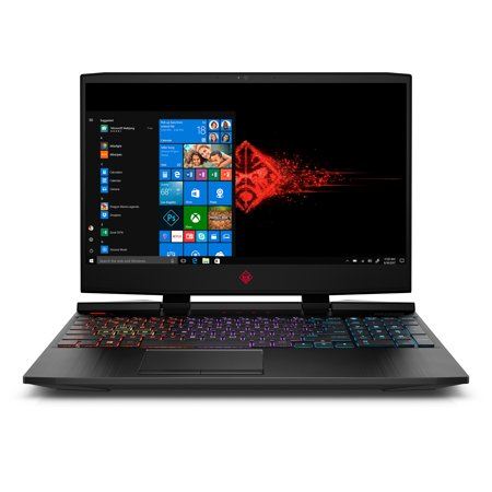 "Omen by HP Gaming Laptop 15.6"", Intel Core i7-9750H, NVIDIA RTX 2060 6GB, 16GB Memory, 1TB Hard Drive + 256GB SSD, 4 Zone Backlit Keyboard, 15-dc1069wm"