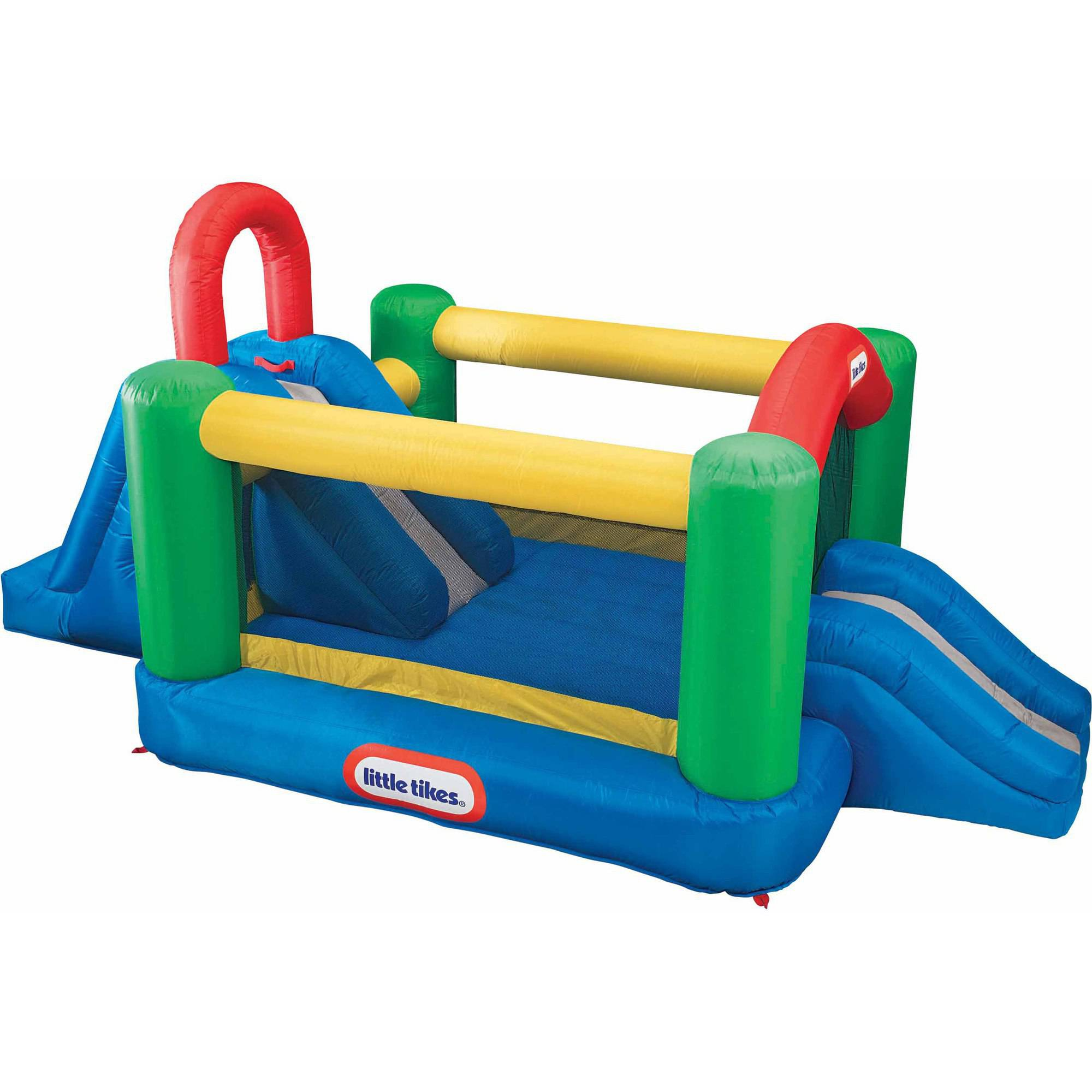 Little Tikes Jump 'n Double Slide Bouncer