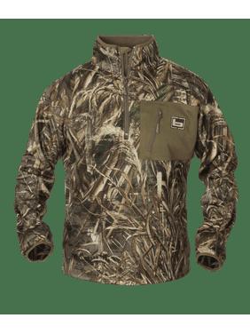 1/4 Zip Mid Layer Fleece Pullover (Max5, 3X-Large)