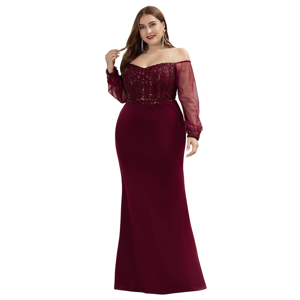 Ever-pretty - Ever-Pretty Women's See-through Sequin Dress ...