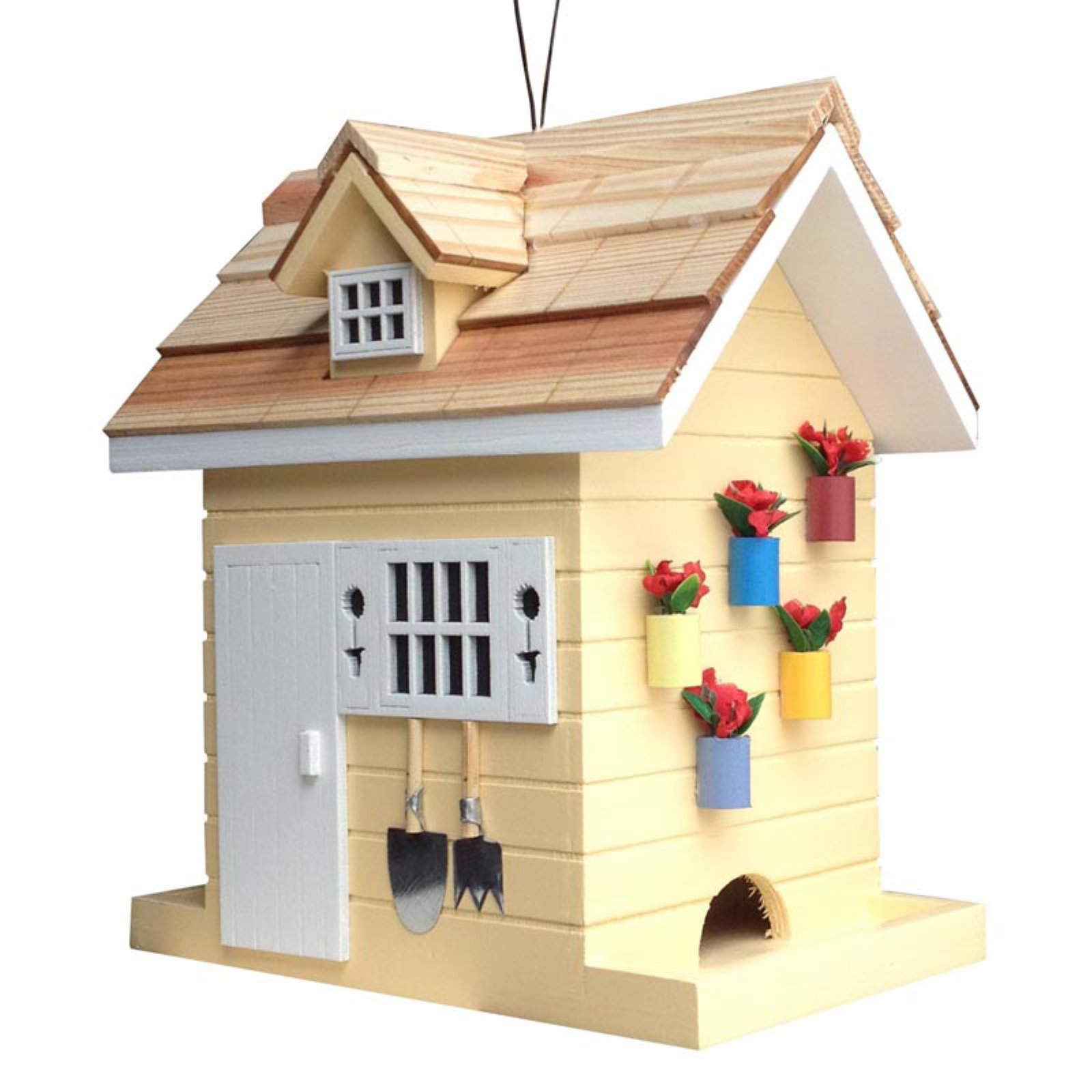 Home Bazaar Potting Shed Bird Feeder
