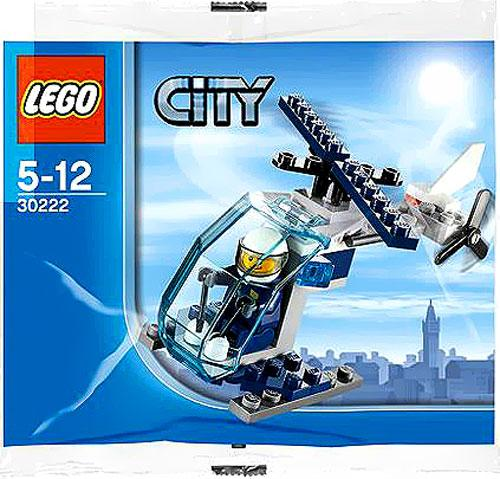 City Police Helicopter Mini Set LEGO 30222 [Bagged]