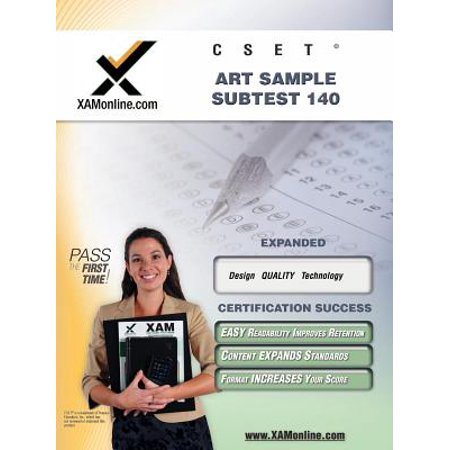 Cset Art Sample Subtest 140 Teacher Certification Test Prep Study