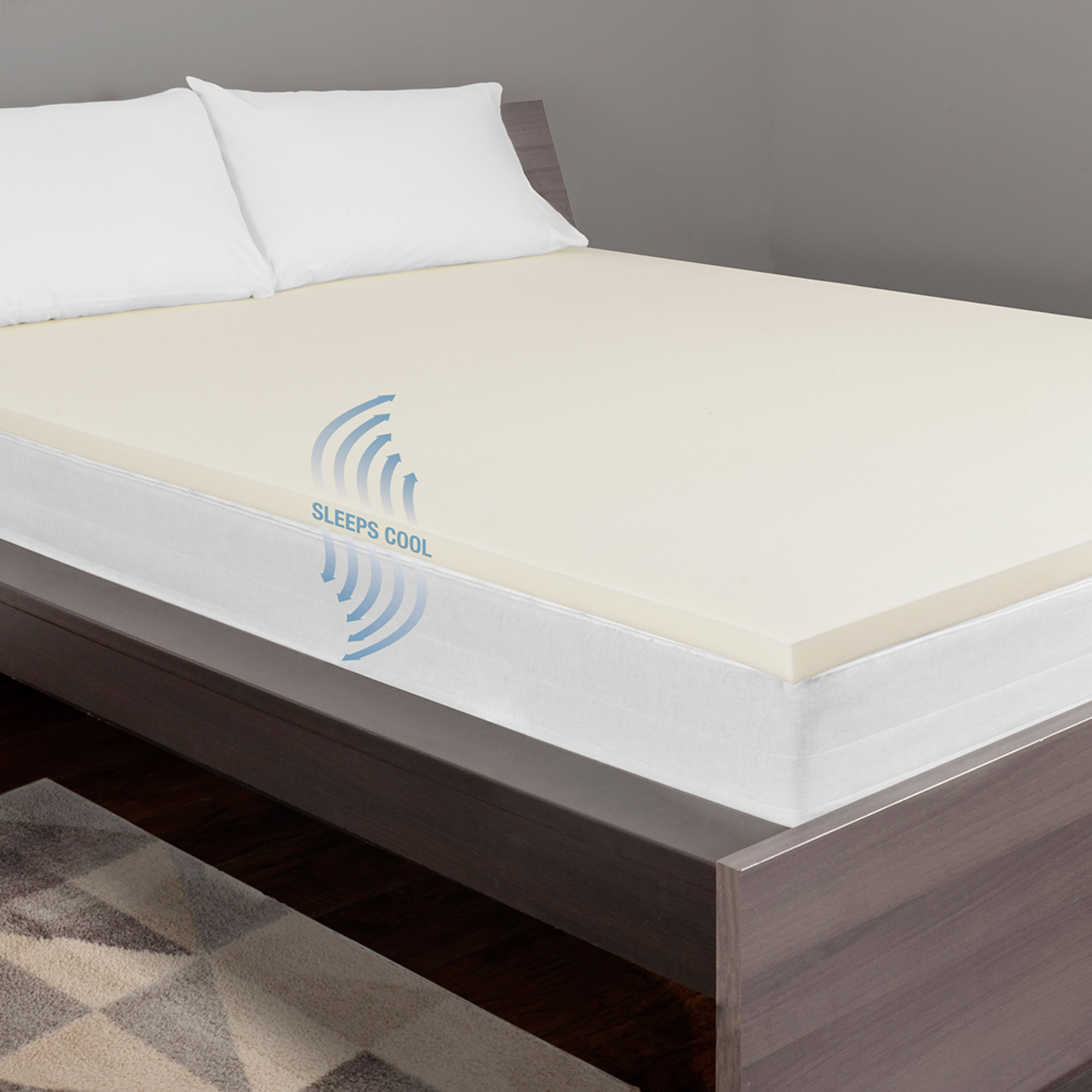 "Dream Serenity 1.5"" Comfort Support Mattress Topper"