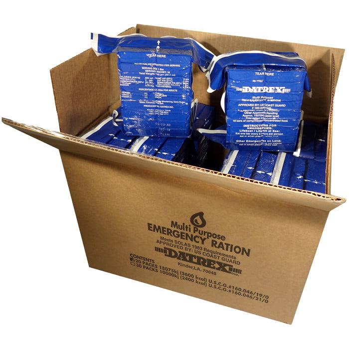 Datrex Blue Emergency Food Ration 3600 Calorie Bars by BlackBeltShop