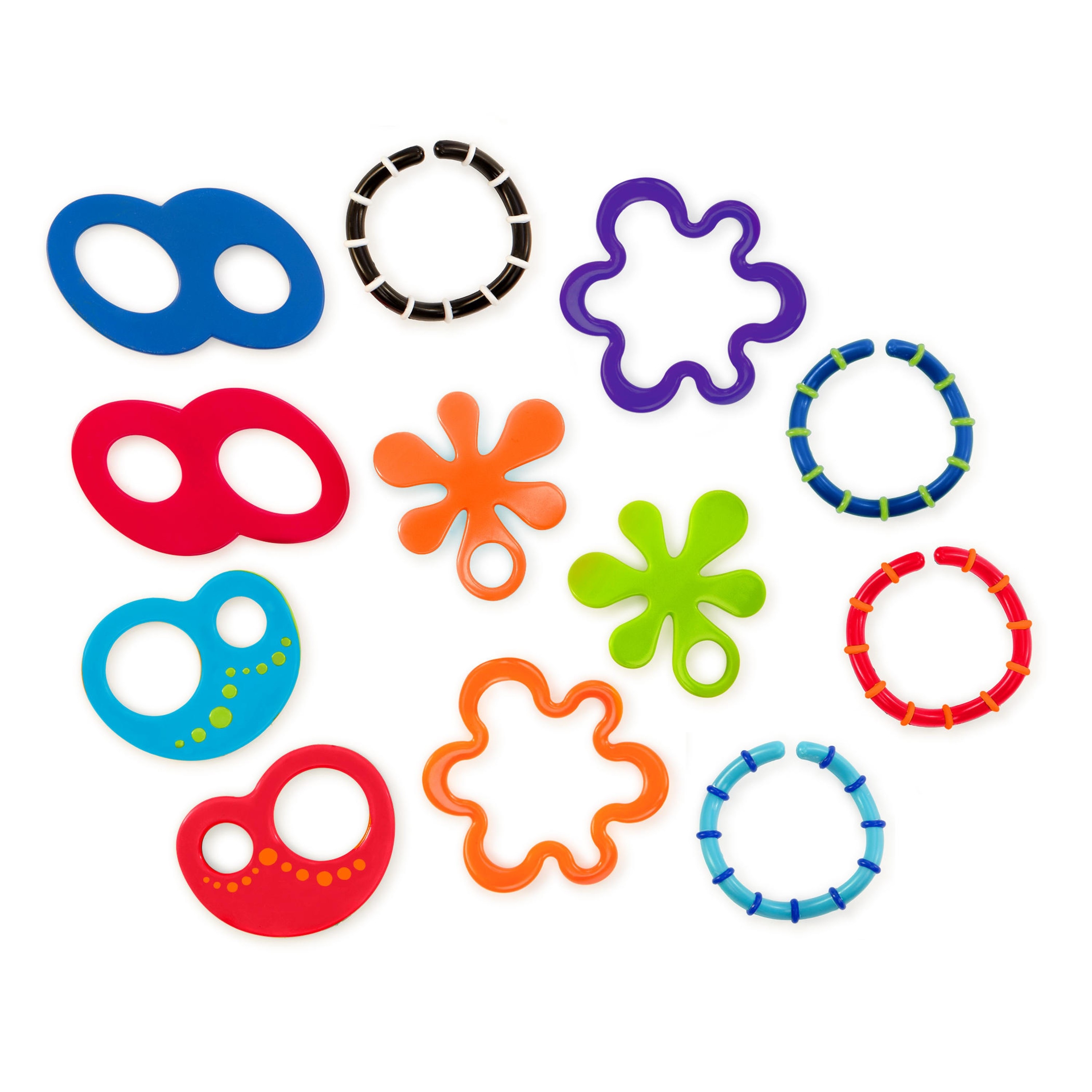 Oball 12 Linky Loops Teething Toy