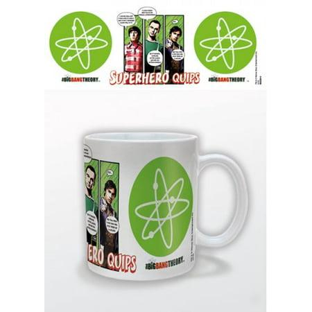 The Bang Theory Ceramic Coffee Mug Cup Howard Sheldon Raj
